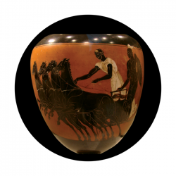 Apollo CSDS Glass Gobo 8005 D. Antonakos - Greek Vase