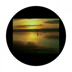 Apollo CSDS Glass Gobo 8017 D. Antonakos - West Coast Sunset
