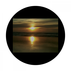 Apollo CSDS Glass Gobo 8019 D. Antonakos - Ocean Sunset