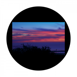 Apollo CSDS Glass Gobo 8041 D. Antonakos - Red Sky