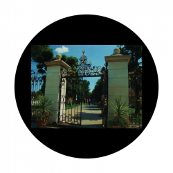 Apollo CSDS Glass Gobo 8042 D. Antonakos - Iron Gate
