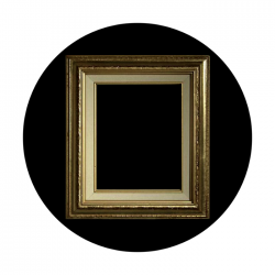 Apollo CSDS Glass Gobo 8052 A. Thompson - Frame