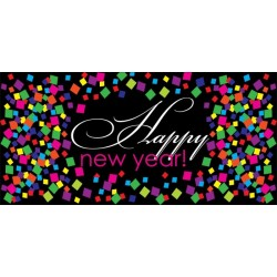 Apollo DesignScape - Happy New Year Confetti