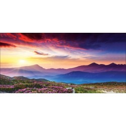 Apollo DesignScape - Sunset Mountains