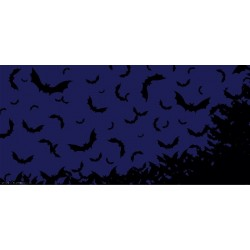 Apollo Halloween DesignScape - Sky Full of Bats