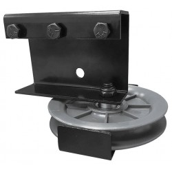 Black Single End Pulley