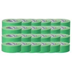 "RoscoGaffTac 2"" Fluor Green Keying Tape 48mm x 50m - 24 CT."