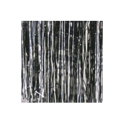 Rosco Slit Drape Silver/Diffraction 8'