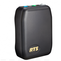 RTS TR-240 2.4 GHz Wireless Intercom Beltpack with A4F Headset Jack