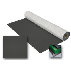 Rosco Studio Floor - Black Matte - 6' x 60' Rol