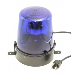 MBT Colored Compact Rotating Beacon - Blue - lamp included