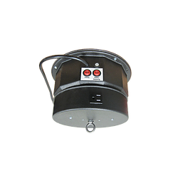 Ceiling Turner Medium Duty Motor w/ Rotating Electrical Outlet