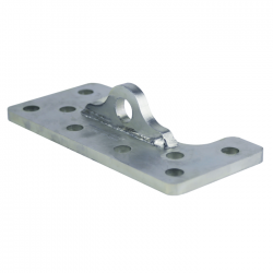 """ModTruss 12"""" Flush Axle Mount Half (Pin and Sheave Not Included)"""