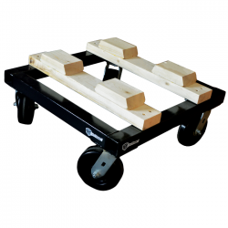 """ModTruss 12"""" MT Series Dolly with Stacker Blocks"""