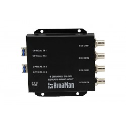 Clear-Com 4 x 3G-SDI OUT fiber converter