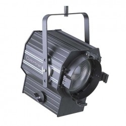 """Leviton FR2TV-50B 8"""" Television Fresnel with C-Clamp, Color Frame, Safety Cable"""