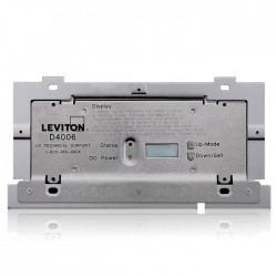 Leviton D4006-2LW Dimensions 4000 System Remote Dimmer