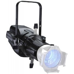 ETC ColorSource Spot Deep Blue Light Engine with Barrel - Black Fixture Body (CSSPOTSDB)