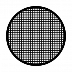 Apollo SuperRes Glass Gobo 1056 Grid