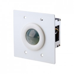 Leviton D4200 Infrared Receiver - 2 Gang Flush Mount - White