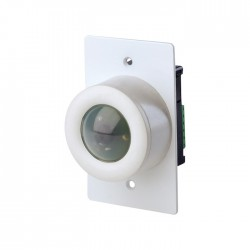 Leviton D4200 Infrared Receiver - 1 Gang Surface Mount - White