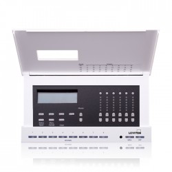 Leviton Dimensions 4106 Lighting Controller for Luma-Net - 6 230V Dimmers - 6 Channels - 20A 230V Input