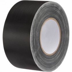 "Rosco GaffTac 3"" Black Gaffer Tape 72mm x 50m"