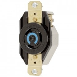 Hubbell L6-20 Single Receptacle