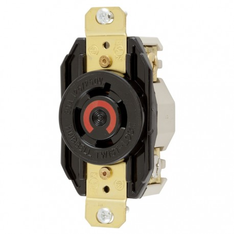 Hubbell L14-20 Single Receptacle
