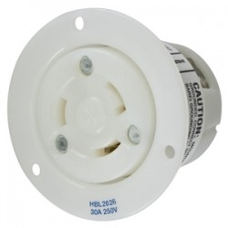 Hubbell L6-30 Flanged Outlet
