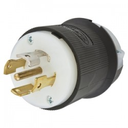 Hubbell L21-30 Male Plug for Flat Cable
