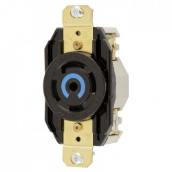 Hubbell L21-30 Single Receptacle