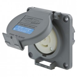 Hubbell L21-30 Watertight Single Receptacle