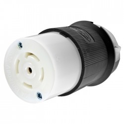 Hubbell L21-30 Female Connector for Flat Cable