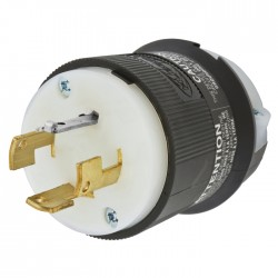 Hubbell 4-Pole - 4-Wire Non Grounding Male