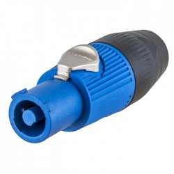Hubbell Insul-Lock 25AMP Power In Connector - Blue