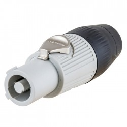 Hubbell Insul-Lock 25AMP Power Out Connector - Gray