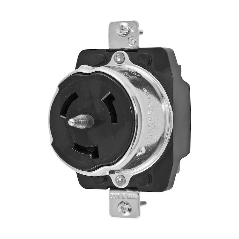 Hubbell 50 Amp 3 Phase Receptacle