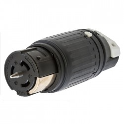 Hubbell 50A - 3 Phase Female Connector