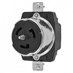 Hubbell 50A - 3POLE/4WIRE Receptacle