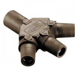 Hubbell Tri-Tap - Brown (MFFF)