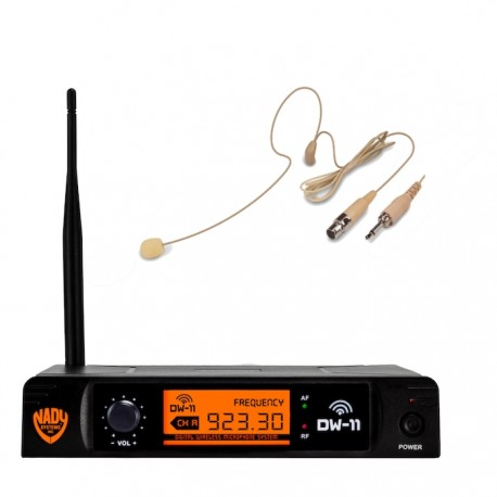 Nady Digital Wireless Microphone System with HM-45U Headset - Stage  Lighting Store