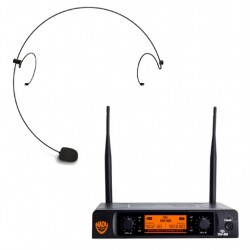 Nady Dual Digital Wireless Microphone System with HM-10 Headset