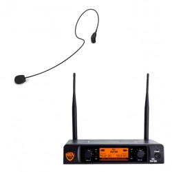 Nady Dual Digital Wireless Microphone System with HM-35 Headset