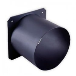 City Theatrical Top Hat for 3 1/2-Inch Ellipsoidal - Black