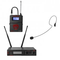 Nady Single UHF Wireless System with HM-35 Headset