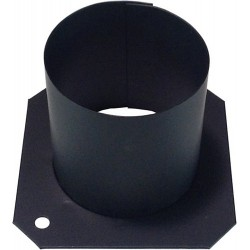 City Theatrical Top Hat for PAR 16 - Black