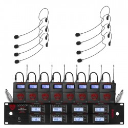 Nady Octo UHF Wireless System with HM-35 Headset