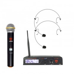 Nady 100-Channel UHF Wireless Microphone System with HM-10 Headset