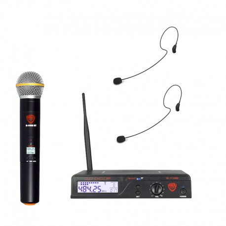Nady 100-Channel UHF Wireless Microphone System with HM-35 Headset
